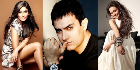 Aamir Khan Rani Mukherjee Kareena Kapoor 586x293 Bollywood Actress