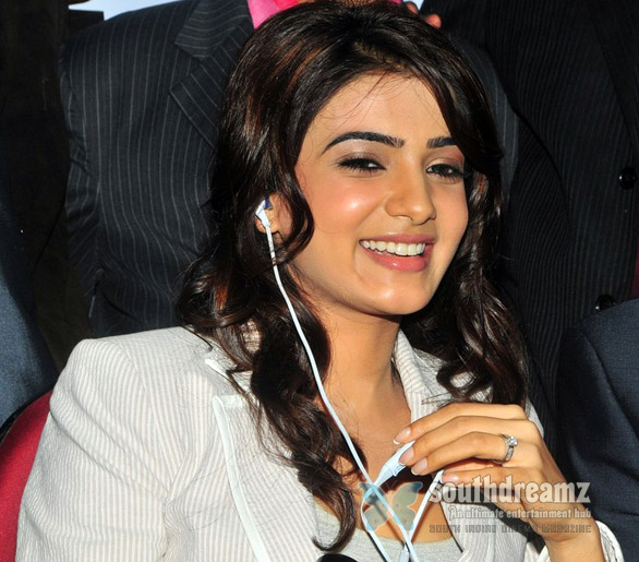 Samantha at BigC 100th Show Room Opening Samantha opposite Karthi?