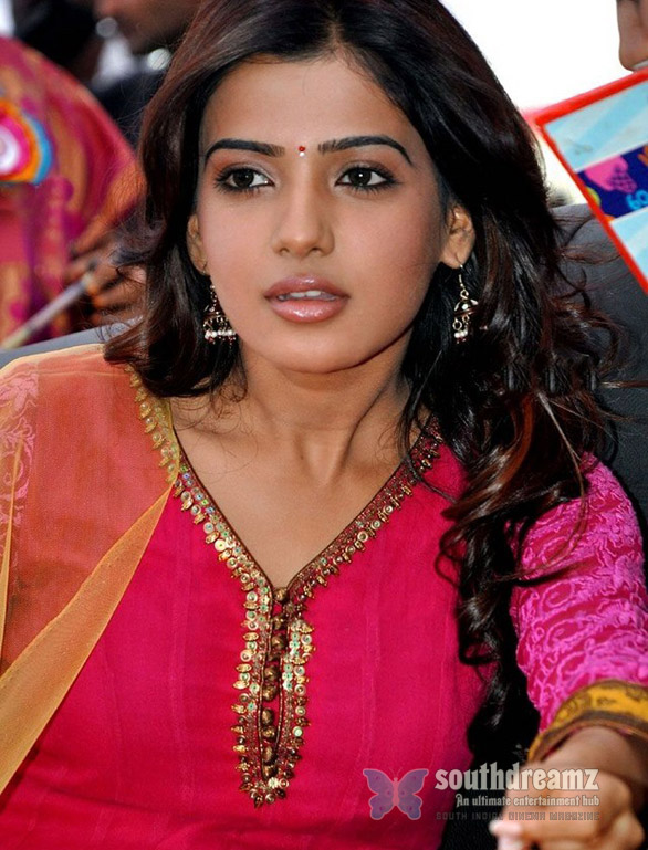 Samantha at Nishita College Annual Day Celebrations Pictures Samantha in Vijay   AL Vijay movie?