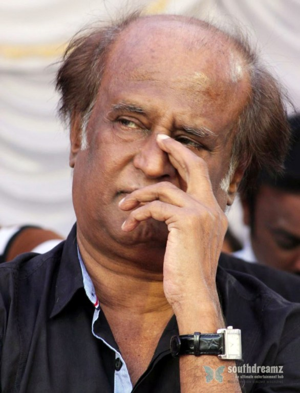 rajni at Kollywood Hangover 586x767 Kollywood strikes today!