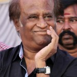 Superstar Rajnikanth watches 'Vishwaroopam' premiere