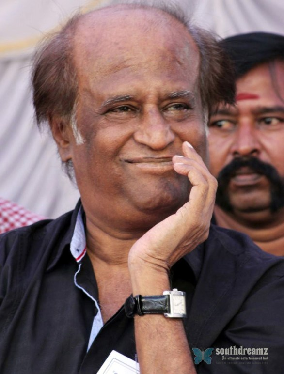rajnikanth at Kollywood Hangover 586x772 Will Superstar Rajnikanth face career and health problems this year?