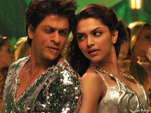 chennai express srk deepika 586x439 Chennai Express movie review