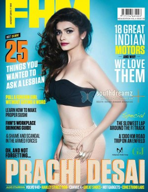 Prachi Desai Hot Photo Shoot for FHM