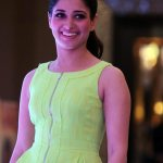 bollywood- hot-masala-actress-tamanna-at-zipper-green-dress-high-heel-purple-velvet-shoe-1