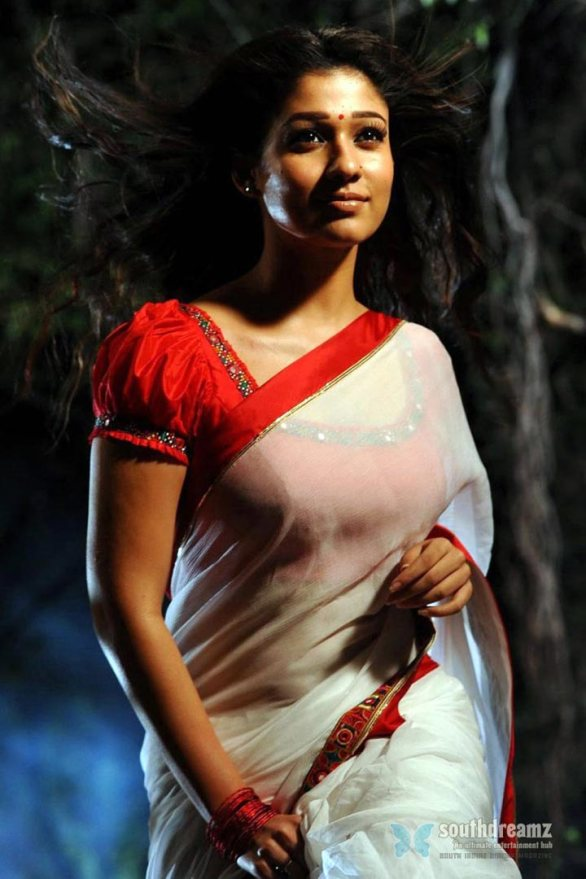 malayalam actress nayantara hot saree stills 8 586x879 Nayantara   All things bright & beautiful!