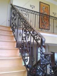 Wrought Iron Stair Railing 3