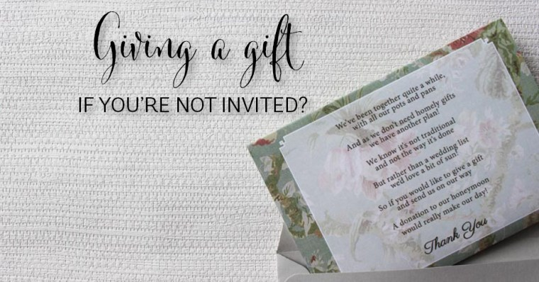 Wedding Gift Etiquette If Not Invited : Wedding Planning ArchivesPage 2 of 6Southern Bride
