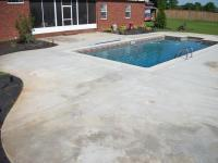 Colored Concrete Pool Deck Unique Concrete Decks Grey ...