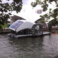 Charm City's Water Wheel: The first truly feasible ocean cleaning array is already afloat