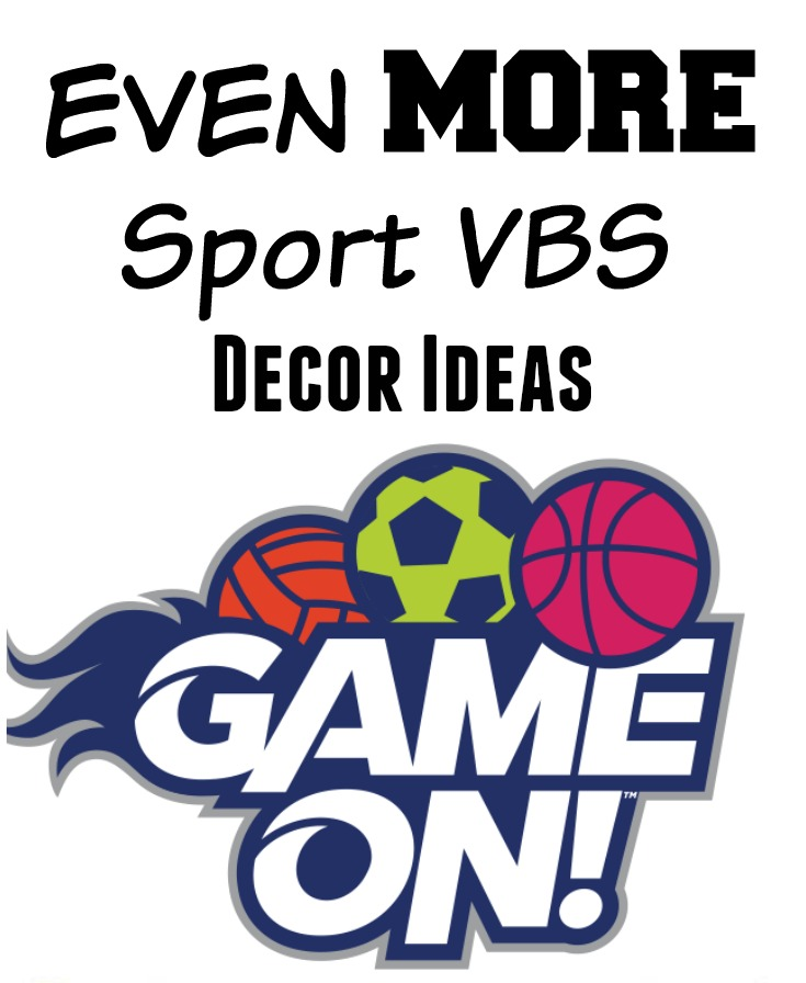 Sports Craft Ideas for Kids Game On VBS - Southern Made Simple