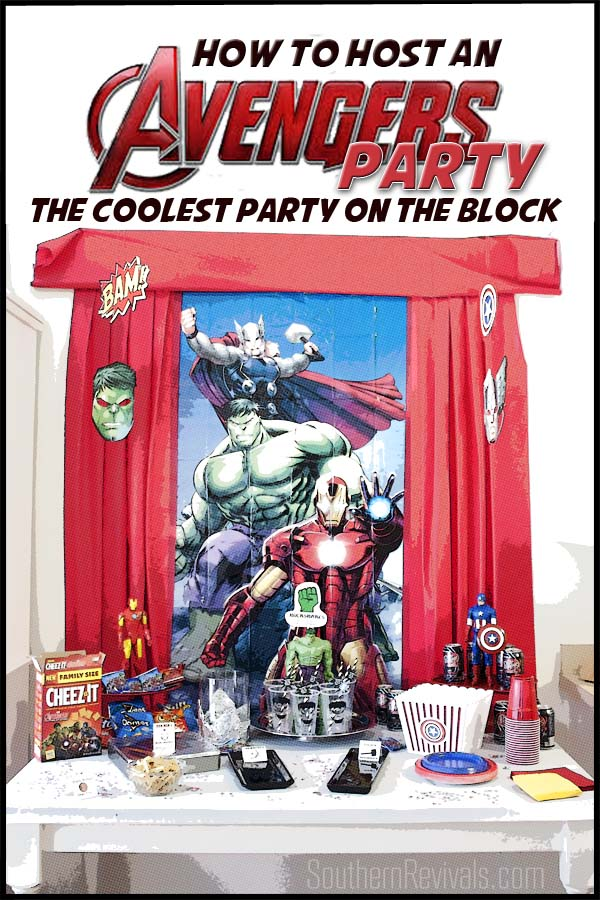 Host an Amazing Avengers Party Ideas, Recipes  Free Printables
