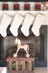 DIY Wooden Reindeer Stocking Holders - Southern Revivals