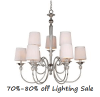 Home Depot Lighting Deal: 70%-80% off Clearance Sale ...