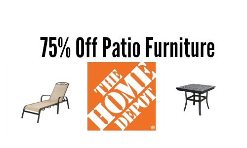 Home Depot Deal 75 Off Patio Furniture Southern Savers