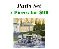 Home Depot: 7 Piece Patio Set for $99 :: Southern Savers