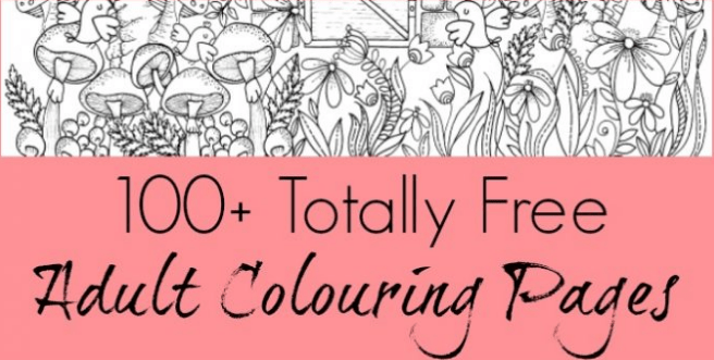 Free Printable Coloring Pages For Adults Southern Savers