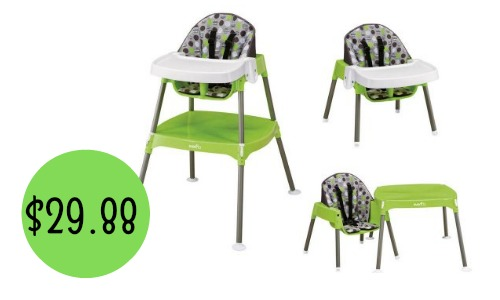 Evenflo Convertible High Chair Southern Savers