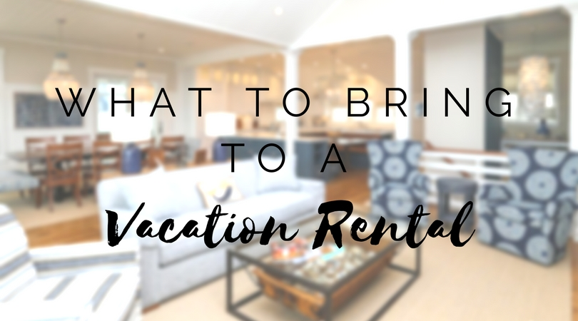 The Outer Banks Vacation Rental Packing List - Southern Shores
