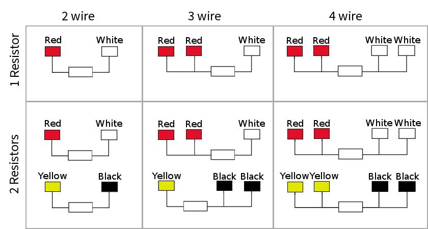 rtd standard wiring diagram