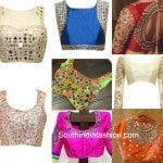 1000 Ideas About Mirror Work Blouse On Pinterest Work