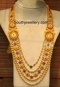 Antique Gundla Mala - Jewellery Designs