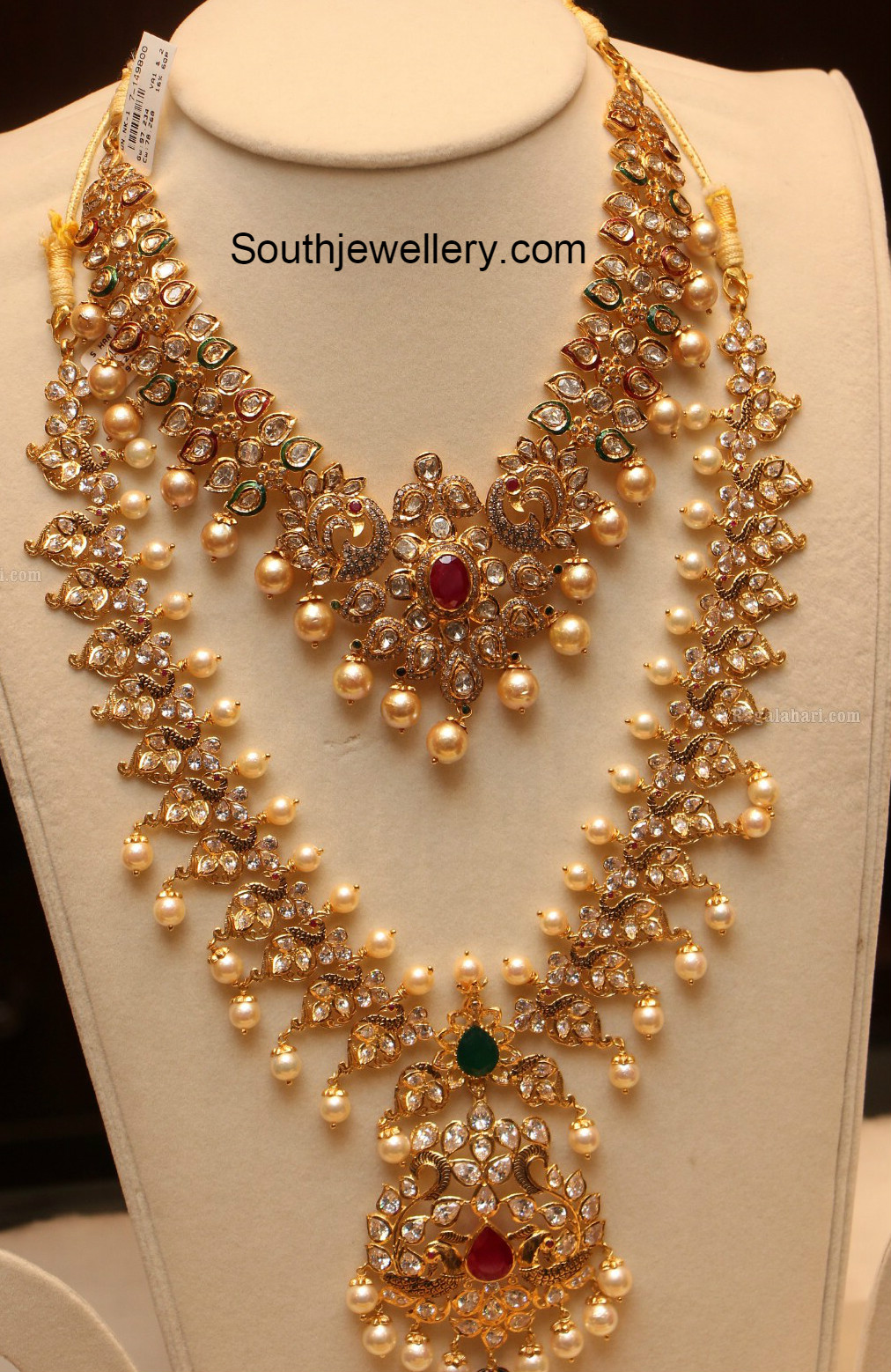 Antique Long Chain Latest Jewelry Designs Jewellery Designs