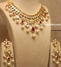 Uncut Diamond Necklace latest jewelry designs - Jewellery ...