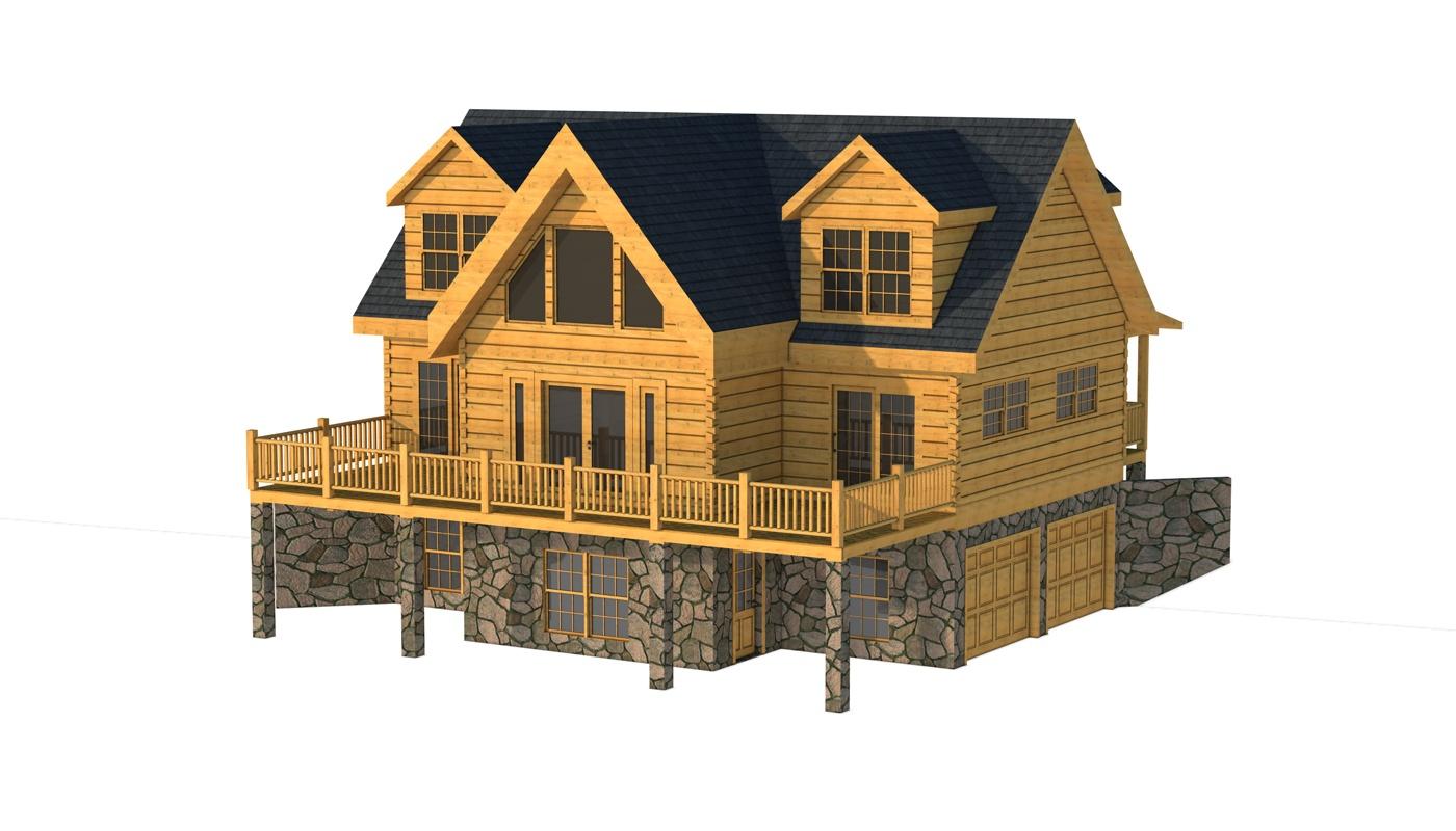 Spartanburg Plans Information Southland Log Homes