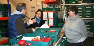 Praise for Foodbank volunteers