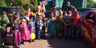Superhero Day at Low Road Primary