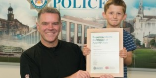 Five-year-old Cottingley Boy Commended For Taking Missing Toddler to Safety