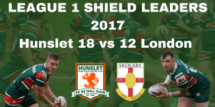 Hunslet edge thriller to secure home advantage