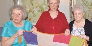 Sunnyview House residents prove you're never too old to knit