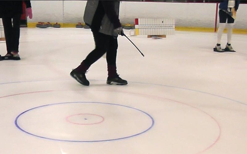 how to make curling ice keen