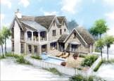 WaterSound Beach Gulfview Spyglass Floor Plan