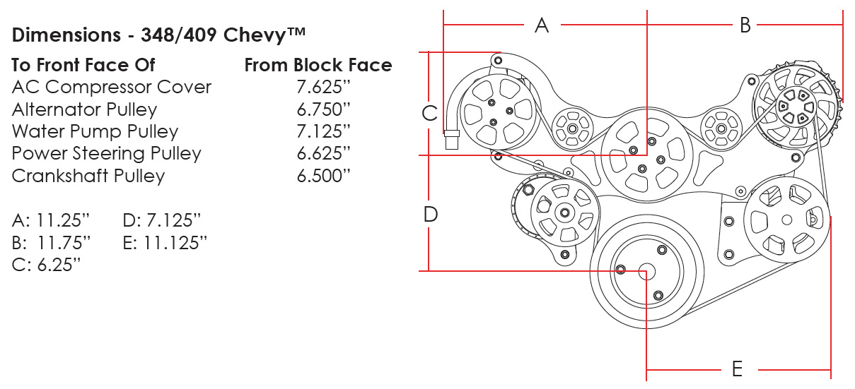 chevy 409 starter wiring diagram