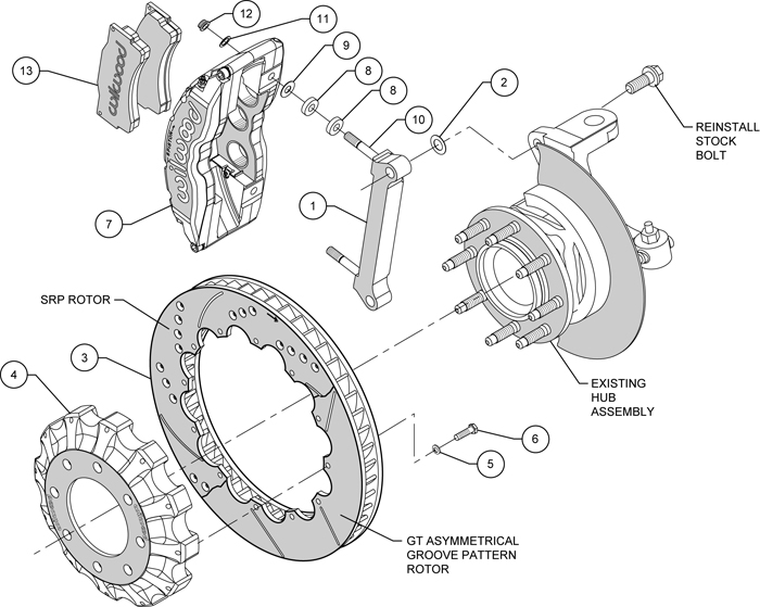 front disc brake and brake pad parts diagram car parts diagram