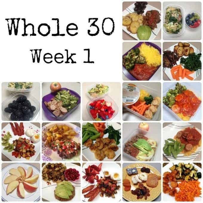 The Whole 30 - Week 1