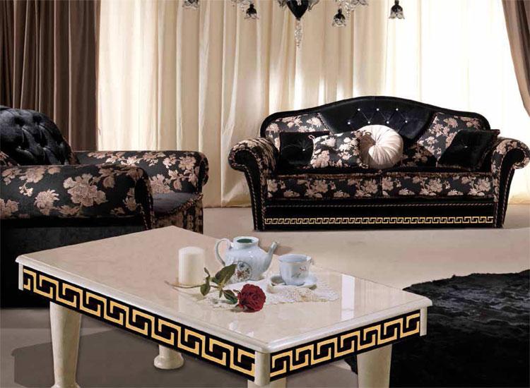 Luxus Sofa 2-sitzer ohne Schlaf Couch Royale Möbel Italienische - klassisch italienischen mobeln