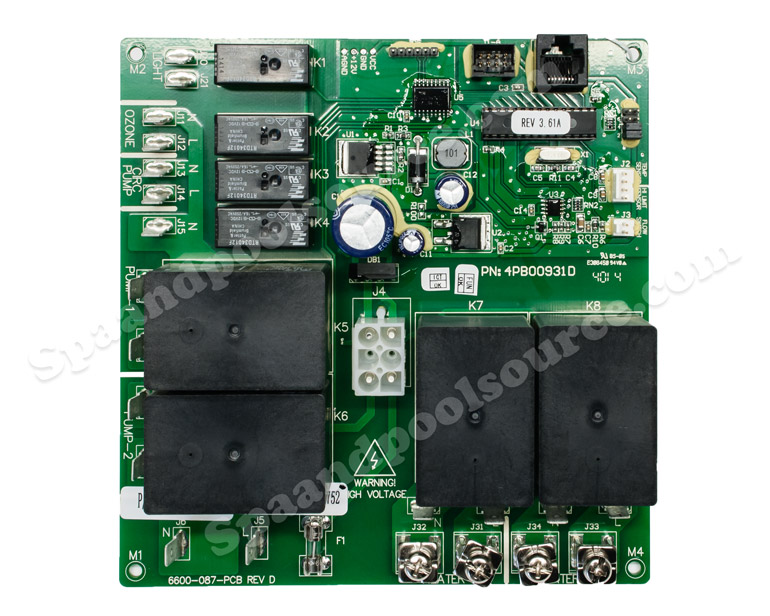 6600-726, 6600-726 Spa Circuit Board for Sundance, Sweetwater with
