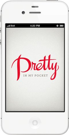 Pretty in My Pocket App