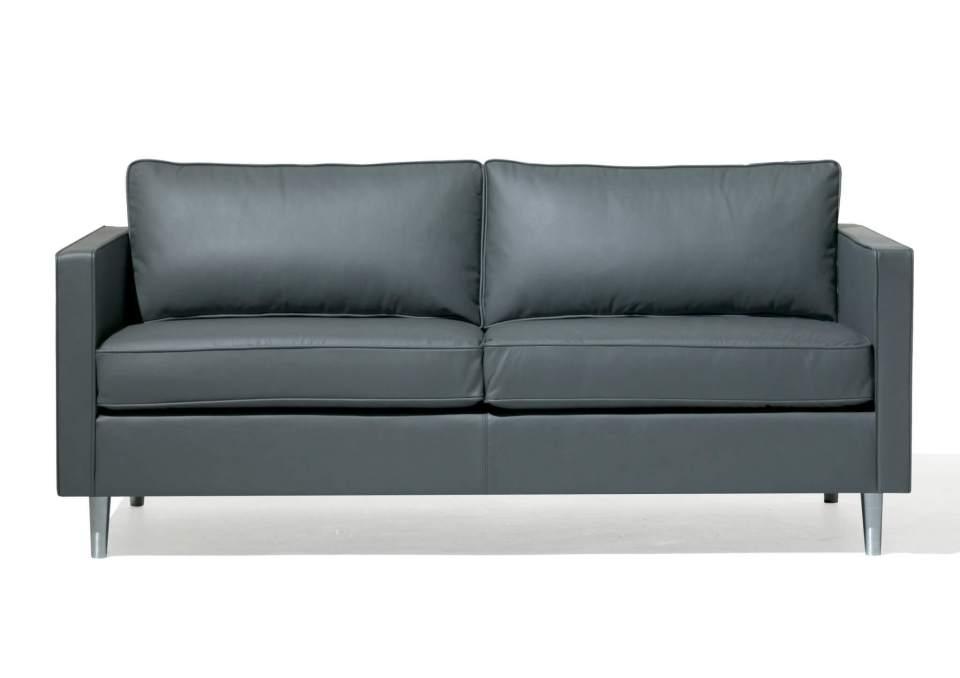 Picture of Orangebox Ogmore Leather Reception Sofa