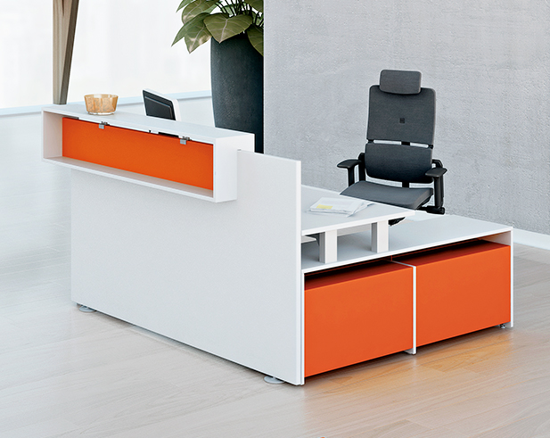 Picture of Steelcase Fusion Reception Desk