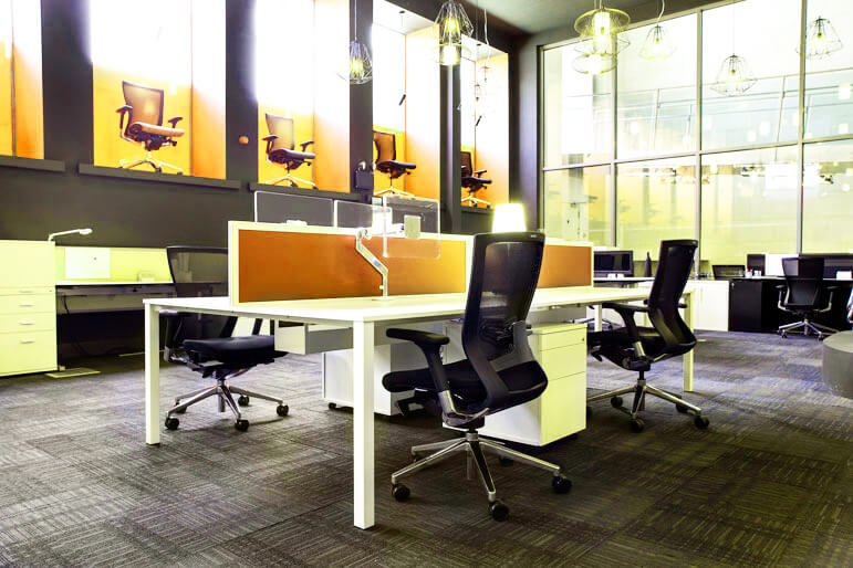 Picture of Techo Alfa 200 Bench Desks