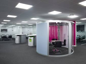 telent head office refurbishment office pod image