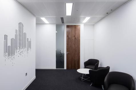 Image of London office wall graphics