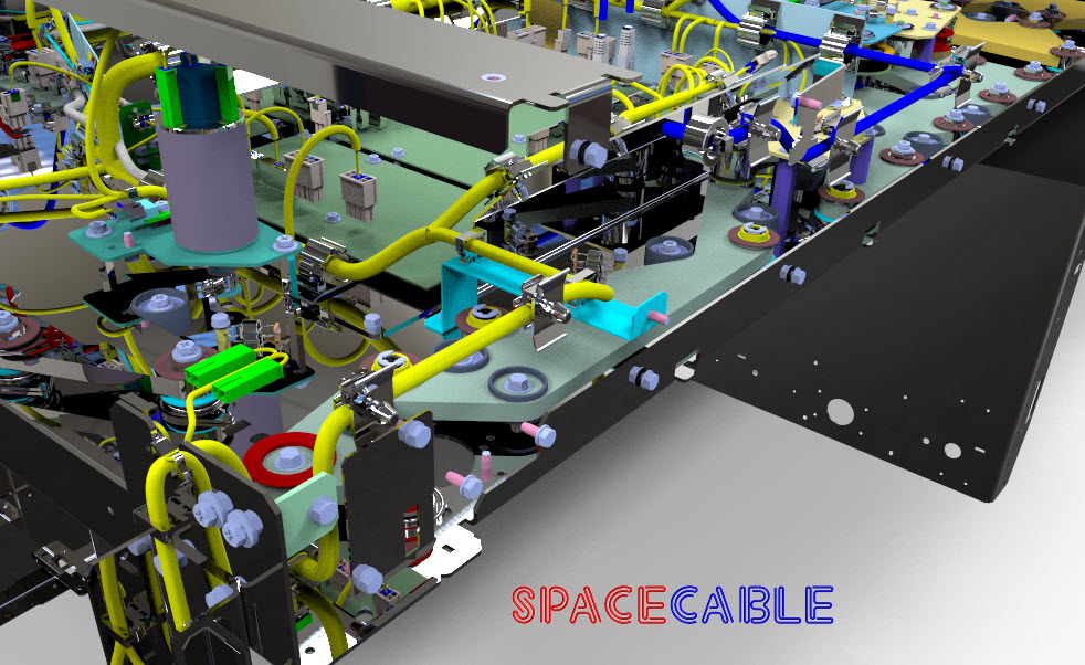SpaceCable PTC Creo Elements Direct CoCreate Modeling Cabling and