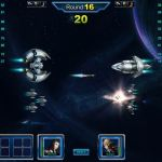 A battle in Star Supremacy