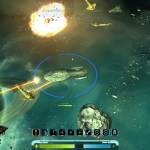 Fighting Multiple Enemies with Explosions in a Greenish Area